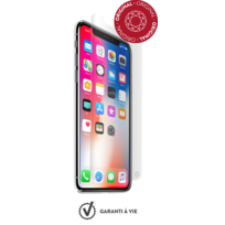FORCE GLASS - Verre trempe iPhone X - Transparent