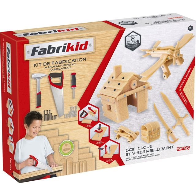 LANSAY FABRIKID KIT DE CONSTRUCTION - 15102