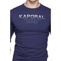 Kaporal 5 - Ponio Navy Bleu - XXL - pas cher Achat   Vente Tee shirt homme  - RueDuCommerce 983b35b5120e