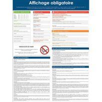 Viso - panneau d'affichage en pvc - affichage obligatoire - 400x300mm