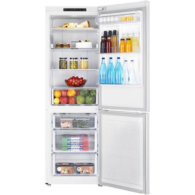 samsung r frig rateur frigo combin blanc 311l a froid ventil no frost multiflow achat. Black Bedroom Furniture Sets. Home Design Ideas