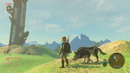 NINTENDO - The Legend of Zelda Breath of the Wild - Wii U