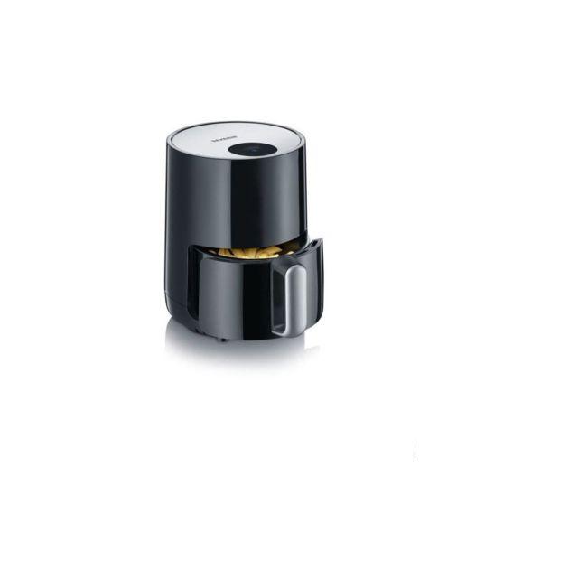 Severin Fr2455 Multicuiseur A Air Chaud Ultra Compact 1 -8l - Friteuse Sans Huile - Temperature Et Temps Reglables - Affichage L
