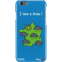 Hihihi - Coque rigide bleue Normandie I have a dream pour Apple iPhone 6