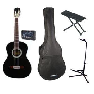 eagletone packs guitare starter pack solea 3 4 noire. Black Bedroom Furniture Sets. Home Design Ideas