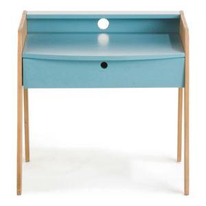 Alina Vintage Petit bureau vintage Bleu pour enfant pas cher