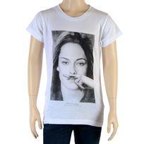 Little Eleven Paris - Tee Shirt Fille Little Seny Kristen Stewart Blanc