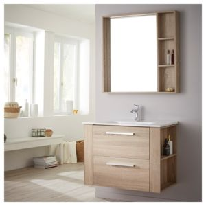 meuble salle bain chene Résultat Supérieur 14 Beau Meuble Salle De Bain 80 Image 2017 Hgd6