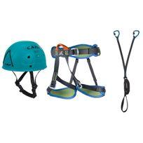 Camp - Pack via ferrata Kit via ferrata vortex Bleu 71139