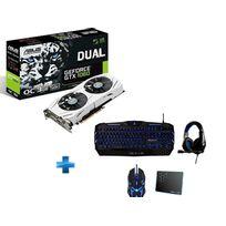 ASUS - GeForce DUAL GTX 1060 03GB version OC + PACK COMPLET OFFERT