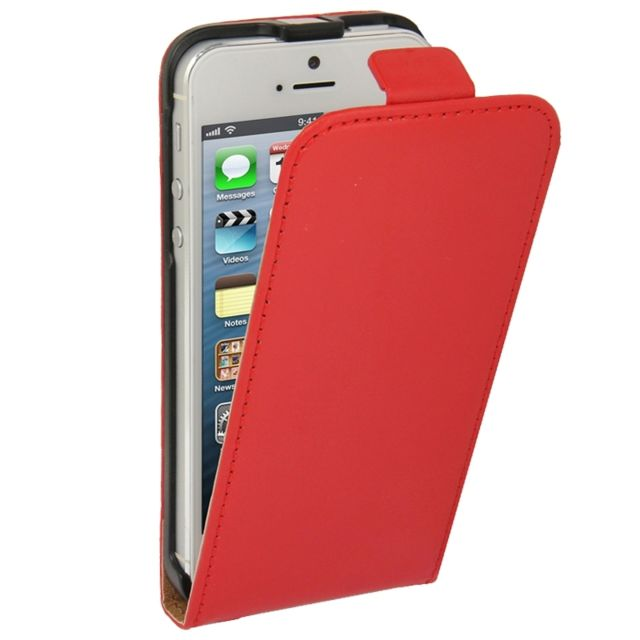 coque magnetique rouge iphone 5