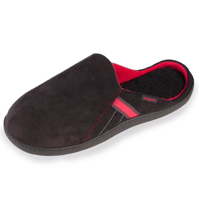 99e0adf2e04 Isotoner - Chaussons mules homme unis - pas cher Achat   Vente Chaussons  homme - RueDuCommerce