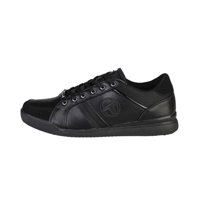 Buzzao - Tennis basses à lacets semelle épaisse noir homme - Tacchini e10b7d829e34