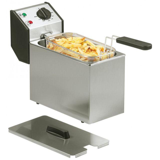 Roller Grill Friteuse De Comptoir Fri5 - 3.2kw - 8kg Frites/h