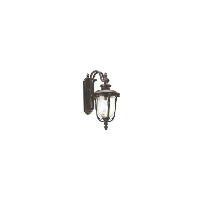 Elstead Lighting Applique Luverne H 45,7cm 1x100W Bronze Noir