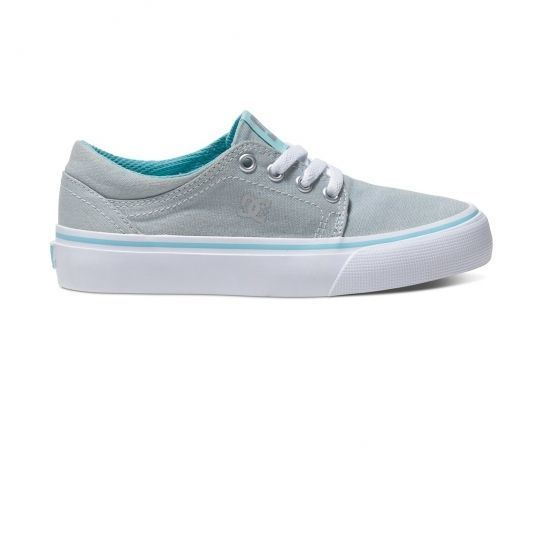 c3870aee98a Dc - Chaussures Trase Tx Grey Blue cadet - Shoes - pas cher Achat   Vente Baskets  enfant - RueDuCommerce