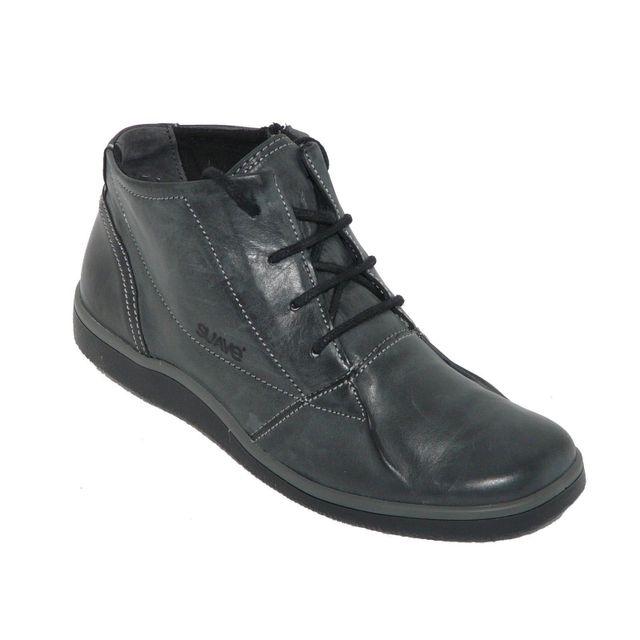 Suave confort Bottillons femme femme chaussures Cuir Zip gris ppFrqO