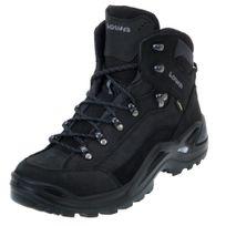 Lowa - Chaussures marche randonnées Renegade gtx mid black Noir 23892