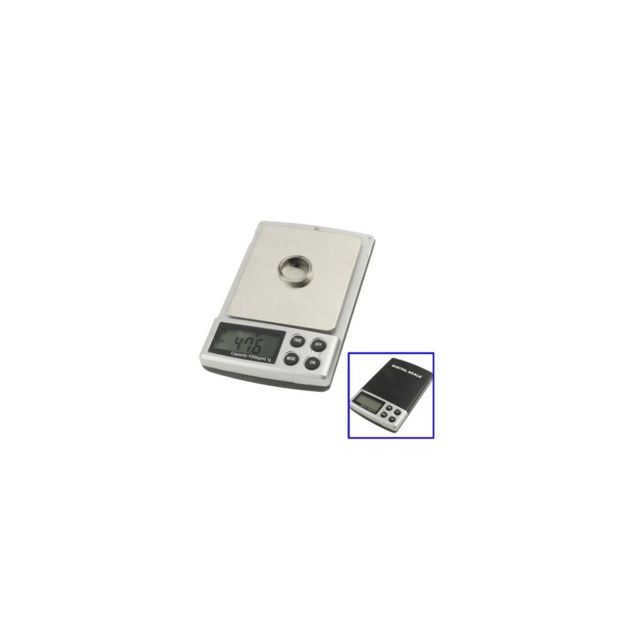 Auto-hightech Balance de poche digitale - 0.1g • 1000g Noir