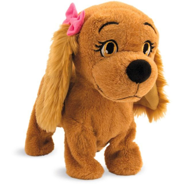 IMC TOYS - Peluche Lucy, petit chien apprivoisé - 7963