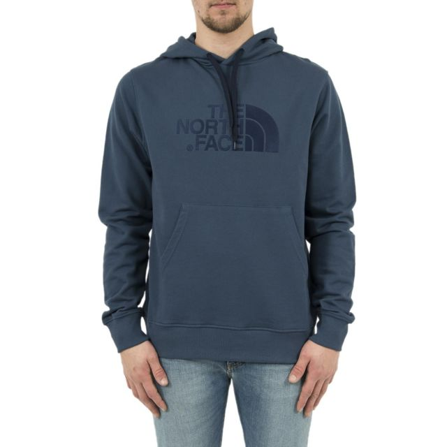 db563943c8138 The north face - Sweat a0te light drew peak bleu - pas cher Achat   Vente  Sweat homme - RueDuCommerce