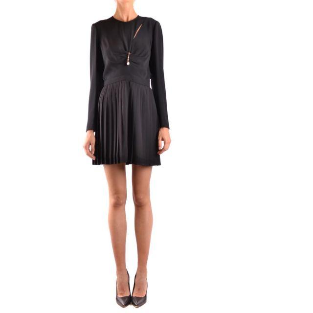 Versus By Versace Versus Versace Femme Bd01054BT21042B1008 Noir AcÉTATE Robe