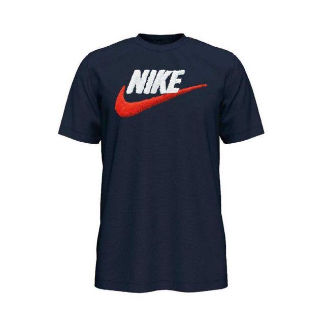 Nike Tee shirt Brand Mark Ar4993 452 pas cher Achat