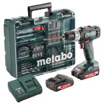 Metabo - Perceuse-visseuse sans fil Bs 18 L + coffret 74 accessoires