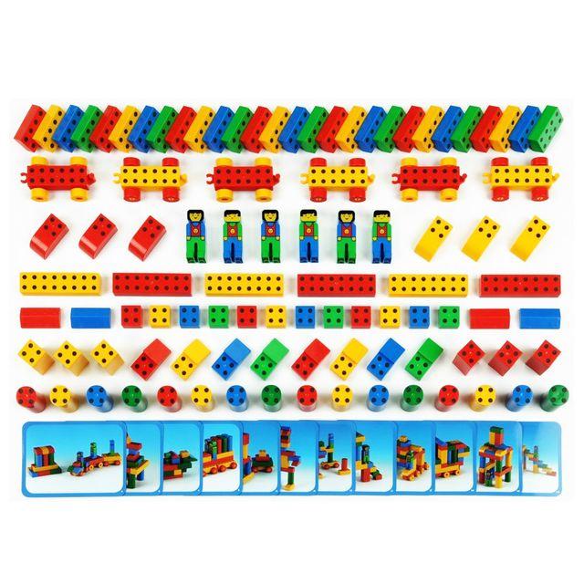 Klein Jeu de construction : Mega set Manetico : 98 pièces