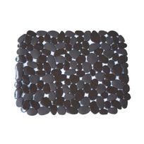 Msv - Fond d'évier galets en Pvc chocolat
