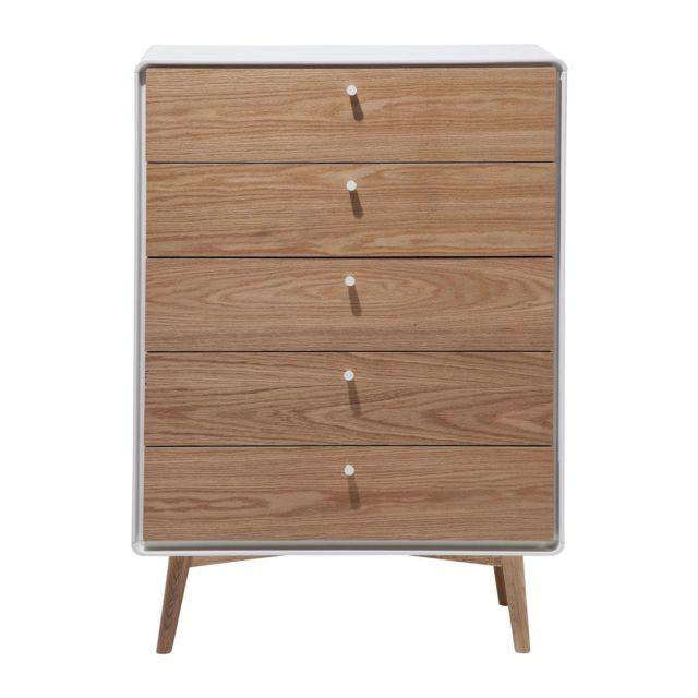 Karedesign Commode haute Closed Society 5 tiroirs Kare Design