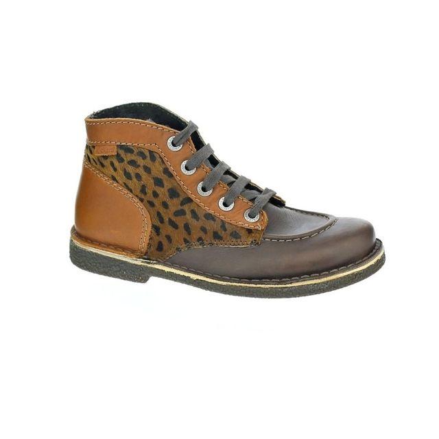 34894dbb33608 Kickers - Chaussures Femme Bottine modele Legendiknew - pas cher ...