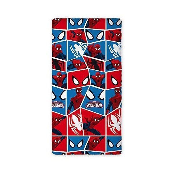 drap housse spiderman pas cher Spiderman   Drap housse Cube Marvel   pas cher Achat / Vente Linge  drap housse spiderman pas cher
