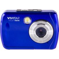 """Vivitar - Vs048 - Appareil photo numérique compact 16 Mégapixels. écran 2.4"""". Waterproof - Bleu"""
