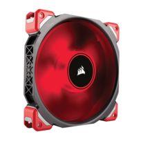 CORSAIR - ML140 Pro LED, Rouge, Ventilateur 140mm à lévitation magnétique