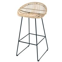 meilleures baskets e7cd3 e504c Tabouret bar rotin - catalogue 2019/2020 - [RueDuCommerce]