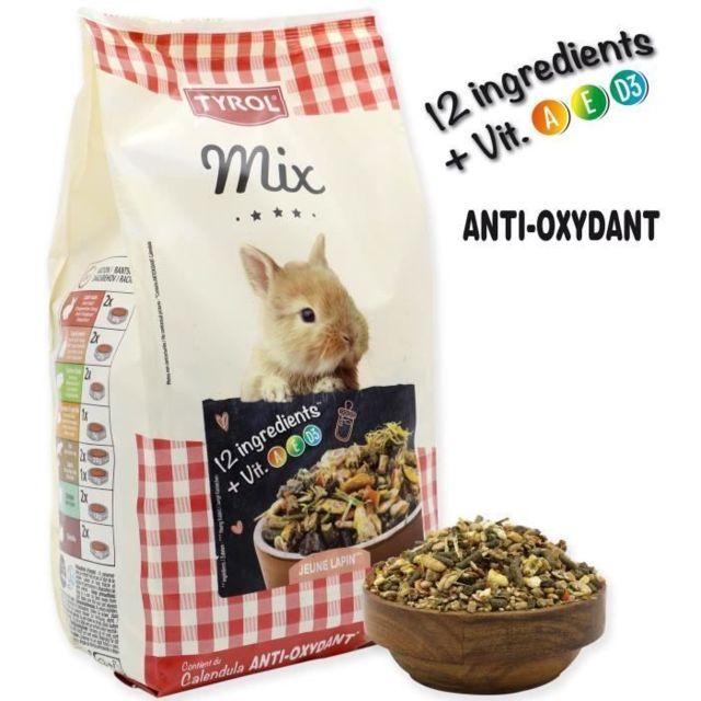 Icaverne GRAINES Menu complet Premium Mix - Pour jeune lapin - 750 g
