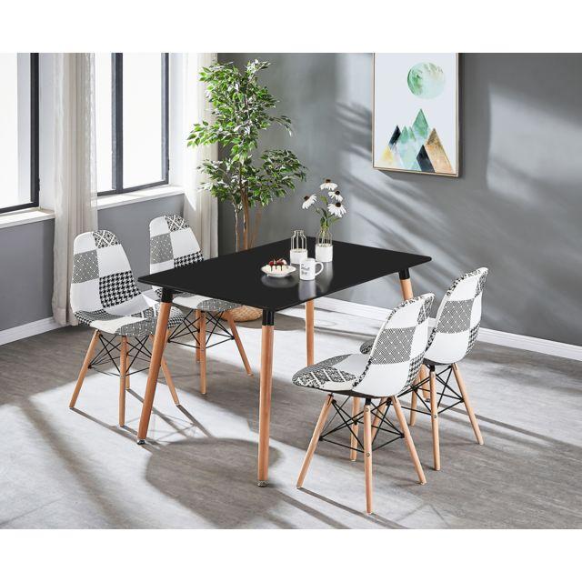 chaises table lorenzo lorenzo blanche 4 dthQCxrsBo