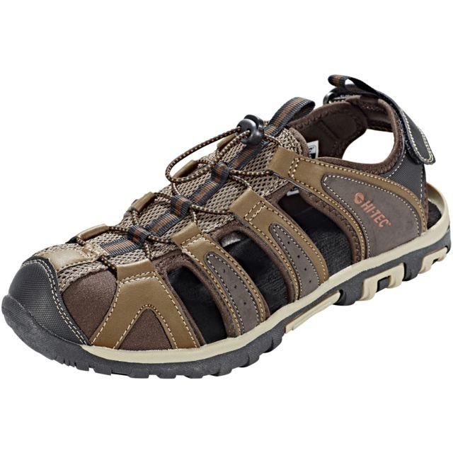 3994e9369ae Hitec - Hi-Tec Cove Breeze - Sandales Homme - marron noir - pas cher Achat    Vente Sandales de marche - RueDuCommerce