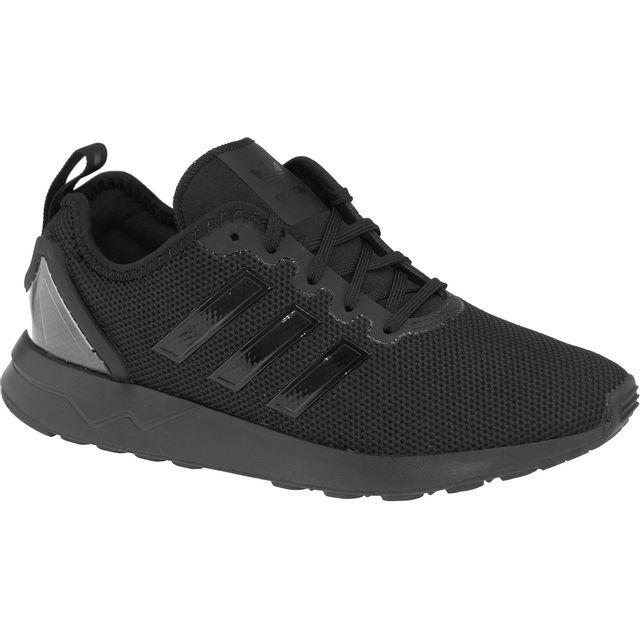Adidas - Zx Flux Adv J S76251 Noir 36 2/3 - pas cher Achat / Vente Baskets enfant - RueDuCommerce