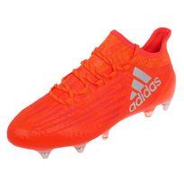 Adidas - Chaussures football vissées X 16.1 sg rouso Orange 74304