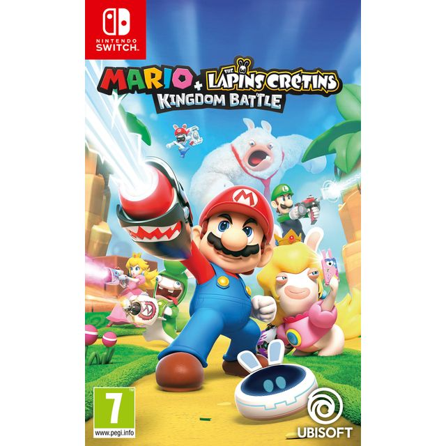 UBISOFT - Mario + The Lapins Crétins Kingdom Battle - Switch