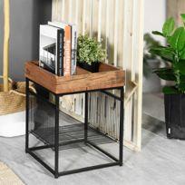 Finlandek Table De Chevet Tyylikas Style Contemporain Decor Noir L