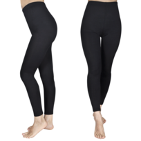 Vidaxl - Set de 2 leggings fille noirs 110/116