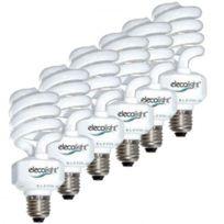 Elecolight - Pack de 6 ampoules plein spèctre Anion 25W E27