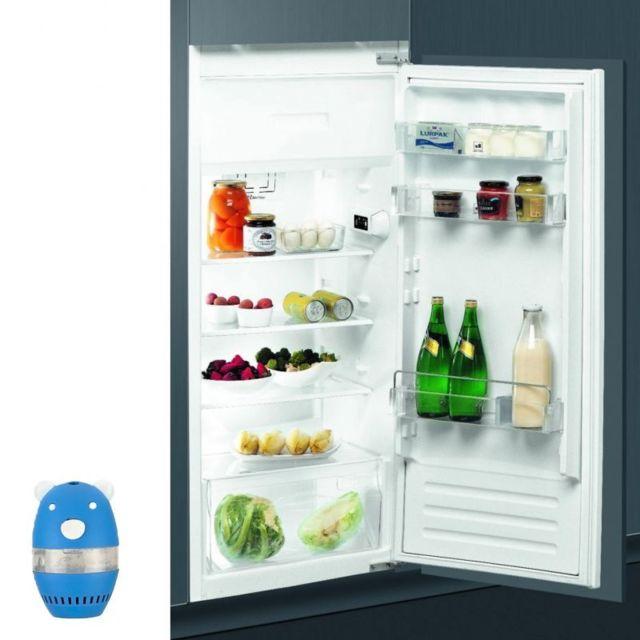 Whirlpool Réfrigérateur Frigo simple porte Intégrable 191L A+ Froid statique silencieux