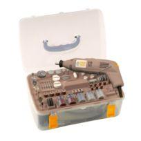 Fartools - Mg 130 Mini Meuleuse en malette avec 210 accessoires 130 W