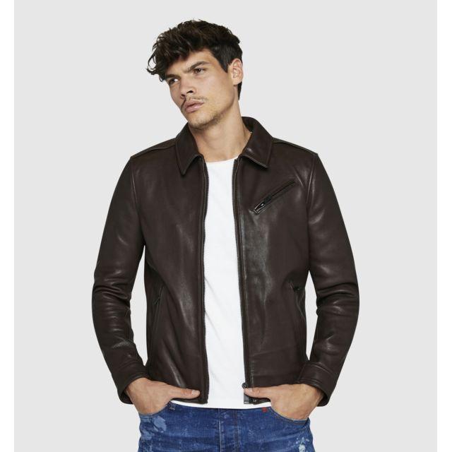 couleurs et frappant prix de détail homme Cuirs - Blouson cuir Ranger Starck