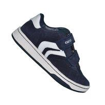 Geox - Basket - Enfant - Mania B C4211 - Navy Blanc