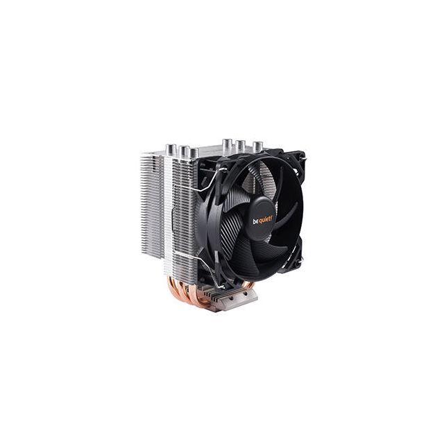 BE QUIET Ventirad Processeur Pure Rock Slim Avec le Pure Rock, be quiet! propose une gamme de ventirads destinée à l'ensemble des PC grand public. Grâce au Pure Rock, be quiet! primé pour sa technologie, apporte sa ma&icir